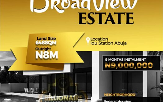 Broadview Estate Idu Abuja 4
