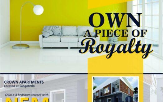 Crown Apartments Sangotedo 1
